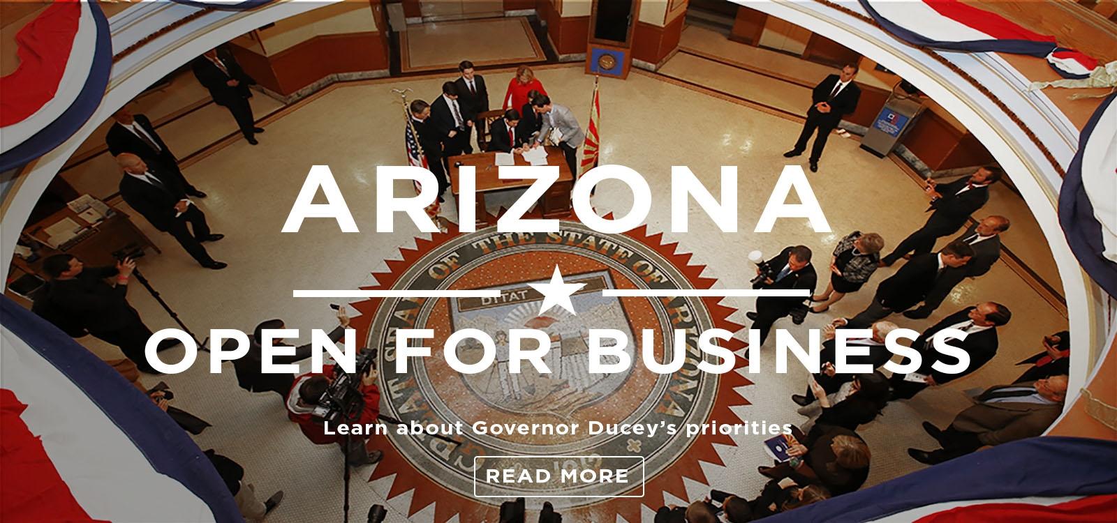 Arizona Open For Business